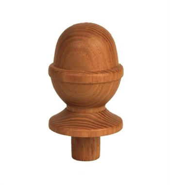 Ash Acorn Newel Cap 90mm