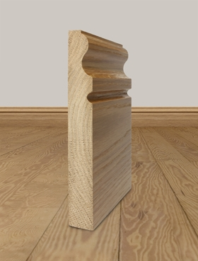 Solid Oak Skirting Board Profile 11