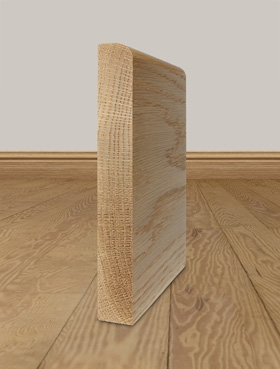 Solid Oak Skirting Board Profile 2