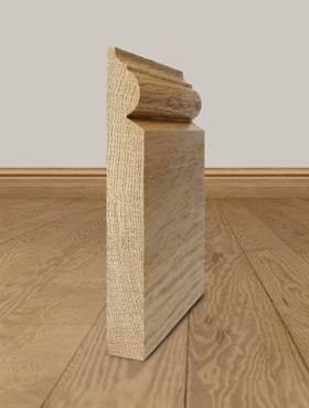 Solid Oak Skirting Board Profile 4