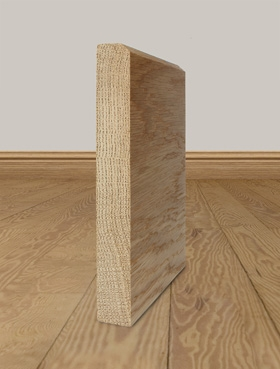 Solid Oak Skirting Board Profile 9