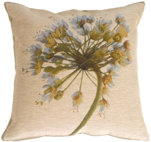 Garlic Flower Decorative Pillow