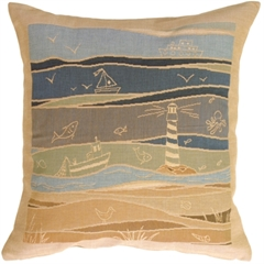 By the Seaside 1 Decorative Pillow