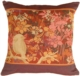 Chickadee Garden Bird Decorative Pillow