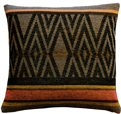 Kilim Country 19x19 Tapestry Throw Pillow