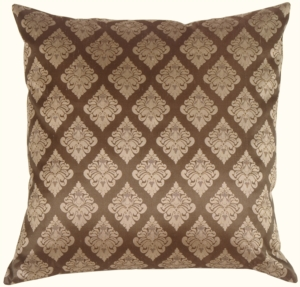 Diamond Square in Taupe Silk