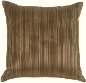 Fine Stripe in Taupe Silk
