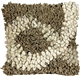 Infinite World Taupe 18x18 Throw Pillow