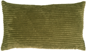 Wide Wale Corduroy Olive 12x20 Accent Pillow