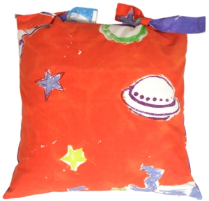Outer Space Adventure Decorative Pillow
