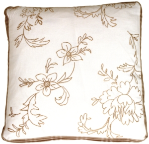 Swiss Flower Box Decorative Pillow