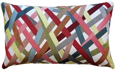 Streamline Fiesta 12x20 Throw Pillow
