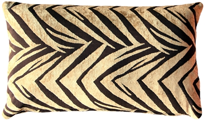 Samba Gold 12x20 Throw Pillow