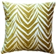 Samba Yellow 20x20 Throw Pillow