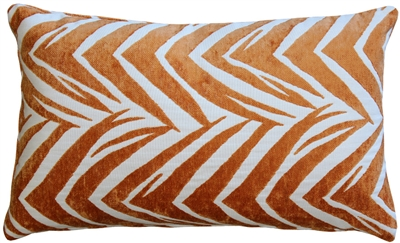 Samba Orange 12x20 Throw Pillow