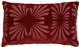 Velvet Daisy Red 12x20 Throw Pillow