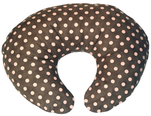 Pink Polka Dot 24x20 Nursing Pillow