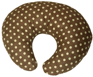 Green Polka Dot 24x20 Nursing Pillow