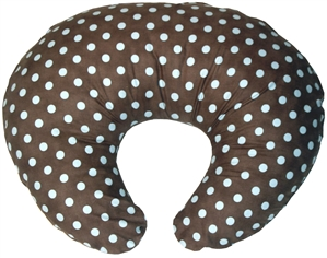 Blue Polka Dot 24x20 Nursing Pillow