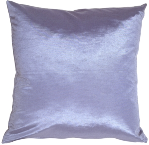 Metallic Winter Blue Pillow
