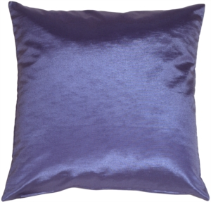 Metallic Summer Blue Pillow