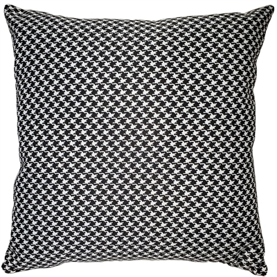 Houndstooth 18x18 Classic Throw Pillow
