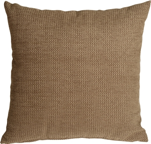 Arizona Chenille 20x20 Tan Throw Pillow