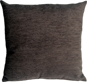 Arizona Chenille 20x20 Gray Throw Pillow