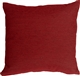 Arizona Chenille 16x16 Red Throw Pillow