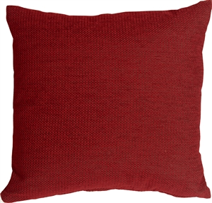 Arizona Chenille 20x20 Red Throw Pillow