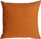 Arizona Chenille 16x16 Orange Throw Pillow