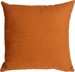 Arizona Chenille 20x20 Orange Throw Pillow
