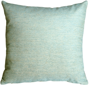 Arizona Chenille 20x20 Blue Throw Pillow