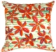 Tahiti Flower Throw Pillow