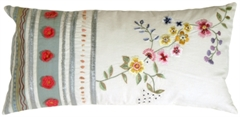 Lola's Garden Throw Pillow