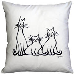 Aristocats 16x16 Throw Pillow
