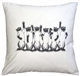 Playful Cats 16x16 Throw Pillow