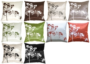 Spring Flower Throw Pillows
