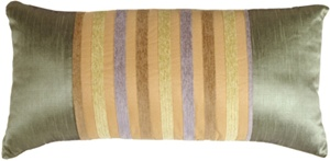 Madeira Stripes without Tassels Decorative Pillow