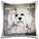 Havanese 17x17 Dog Pillow