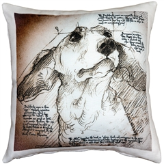Dachshund 17x17 Dog Pillow
