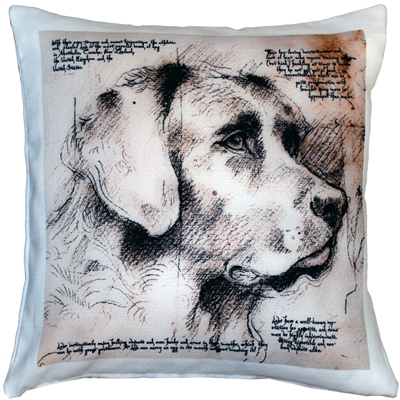 Labrador Dog Pillow