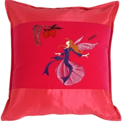 Fairy Throw Pillow Mirabelle Rose