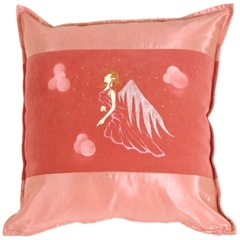 Fairy Throw Pillow Gwendolyn Pink
