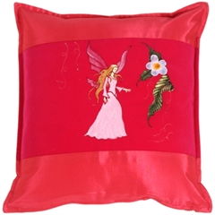 Fairy Throw Pillow Calla Rose
