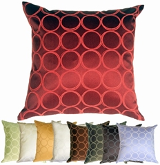 Lunar Circle Throw Pillows