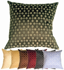 Atomic Flowers Throw Pillows