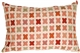 Cherry Cross on Sand Rectangular Decorative Pillow
