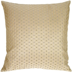Linear Spots on Sand Decorative Pillow