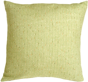 Herringbone Green Square Decorative Toss Pillow